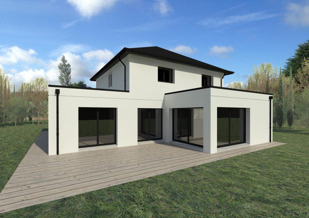 plan maison cubique 4 pans ventana blog. Black Bedroom Furniture Sets. Home Design Ideas