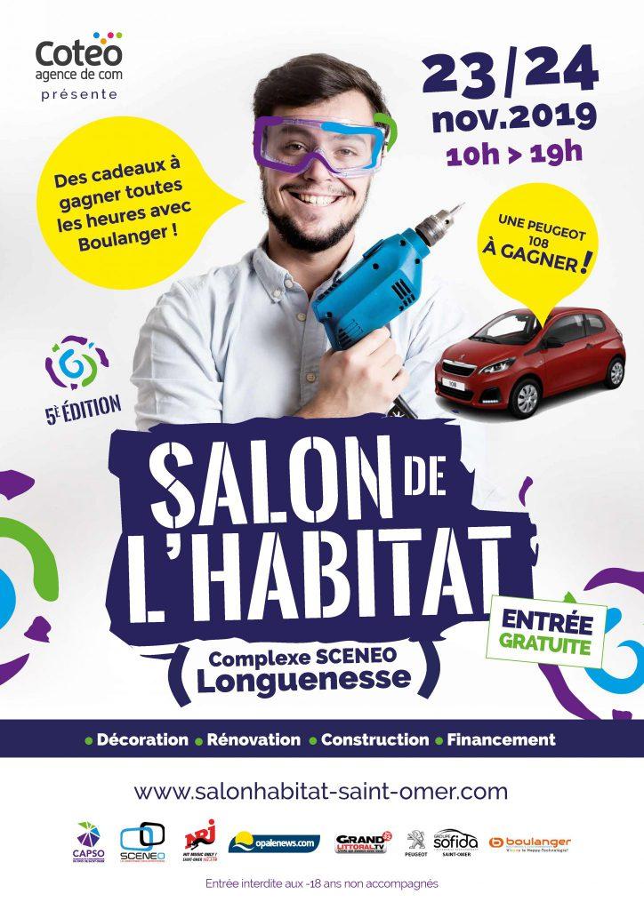 Salon de l'habitat de Longuenesse 2019 !